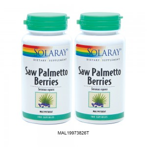 SOLARAY SAW PALMETTO BERRIES TWINPACK-2ND 50% OFF (MAL19973826T)